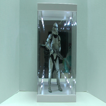 China made acrylic toy display case used for retail shop