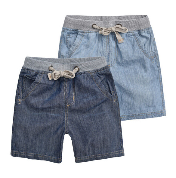 Retail 1PC New 2015 Summer Solid Brand Fashion Casual Cotton Children Short For Boys Baby Kids Boy Casual Denim Shorts CC2115W