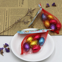 Sweet easter vegan chocolate egg candy