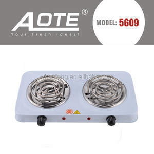 electrical cooker 2 coil hot plate manufactory