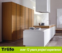 kitchen cabinets direct from china with kitchen cabinet kick plates and material under E1 grade