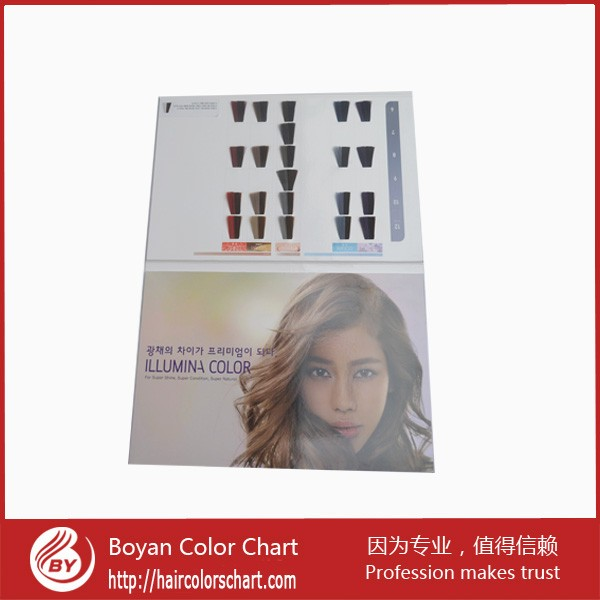Free Sample Hair Color Swatch Hairdressing Salon Color Chart For – Sample Hair Color Chart