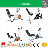 2016 hot sale factory commercial gym training equipment indoor cycling workouts 6kg flywheel recumbent trike