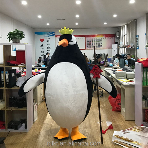 Factory directory sales hot animal mascot costume adult penguin mascot costume