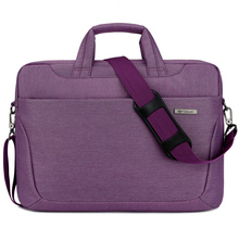 Unisex 14'' 15'' waterproof nylon laptop sleeve case with shoulder strip