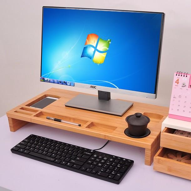 Computer Laptops Stand Riser Desktop Organizer Desk Tidy