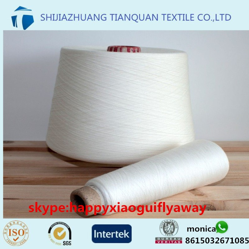 100 China manufacturers Spun polyester yarn to India 20s 30s 40s 50s 60 s