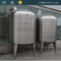 100-10000L cold/hot water stainless steel tank