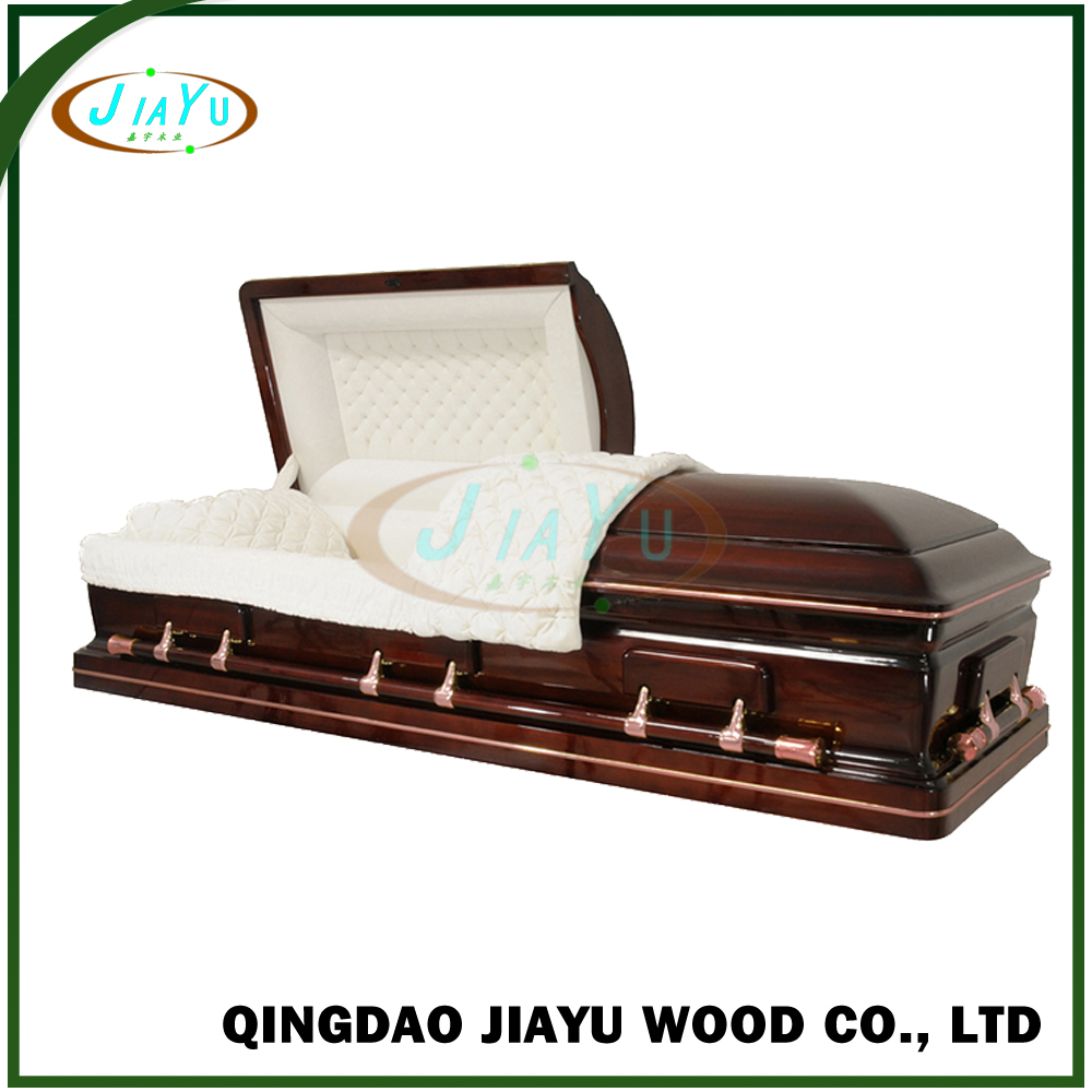 Competitive china distributor wanted casket furniture artificial velvet coffins