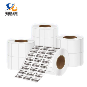 2019 New Barcode Label Sticker Roll Custom Anti-Counterfeiting Aluminium Barcode Metal Label Manufacture Barcode Label