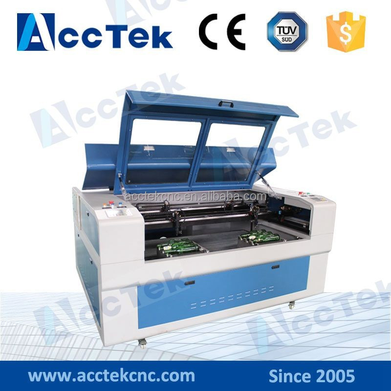 China Acctek 4 tubes rotary attachment for laser engraving machine