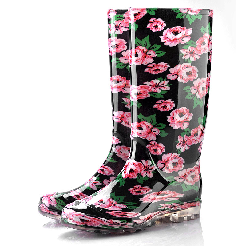 Fancy Women Rain Boots,Foldable Men Rain Boot,Funky Rain Boots ...