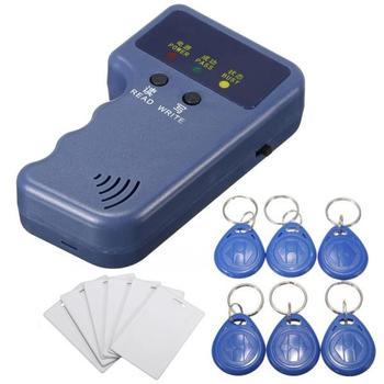 125khz Passive Handheld Rfid Em4100 Keyfob Id Card Duplicator - Buy Em4100  Duplicator,Rfid Keyfob Duplicator,Rfid Em4100 Duplicator Product on