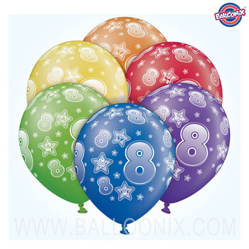 Balloons 8th Birthday