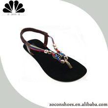 Best price platform ladies fancy sandal