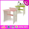 Modern Design wooden study table and chair,Popular study table for kids,good quality and best price wooden study table WO8G093