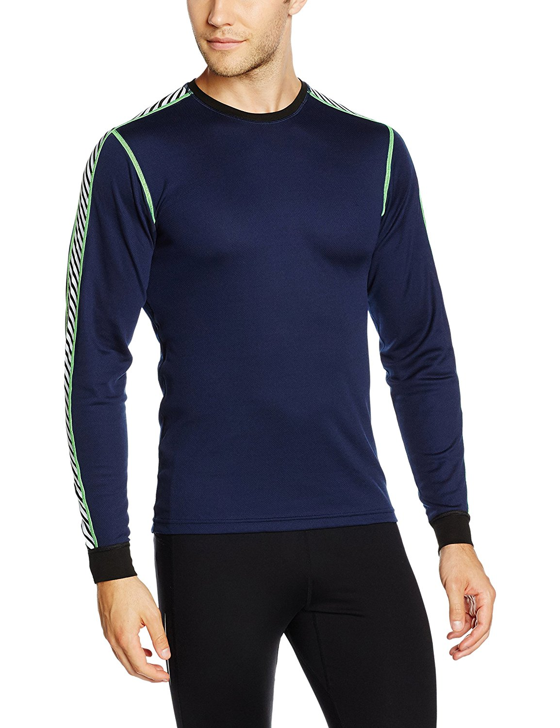 cc298482397 Get Quotations · Helly Hansen HH Dry Stripe Crew Neck Running And Outdoor  Top - AW16