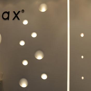 Plaster Gypsum Recessed Led Wall Light Villa Hotel Corner ...