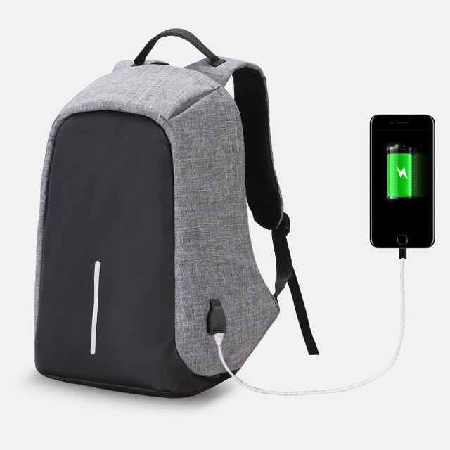 Multi-function anti theft usb travel laptop backpack bag