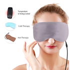 100% natural Silk Sleeping Eye Mask USB Heating Pad Works On Beauty Personal Care Ultimate Sleeping Aid Blindfold