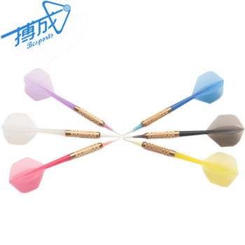 Safety dart with soft tip&plastic shaft
