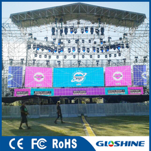 Gloshine Hot Sell LM5.95 Outdoor football stadium perimeter led screen display