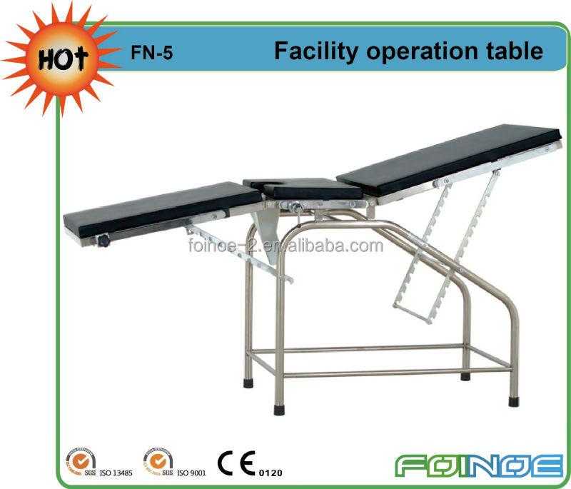 Fn 5a superventas cama manual de operaci n quir rgica mesa for Cama quirurgica