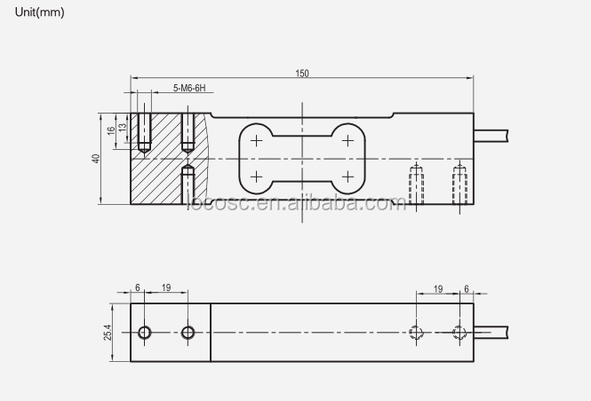 Cheap Price 100Kg 200Kg 250Kg Load Cell,Kitchen Scale Load Cell,300Kg Weight Sensor