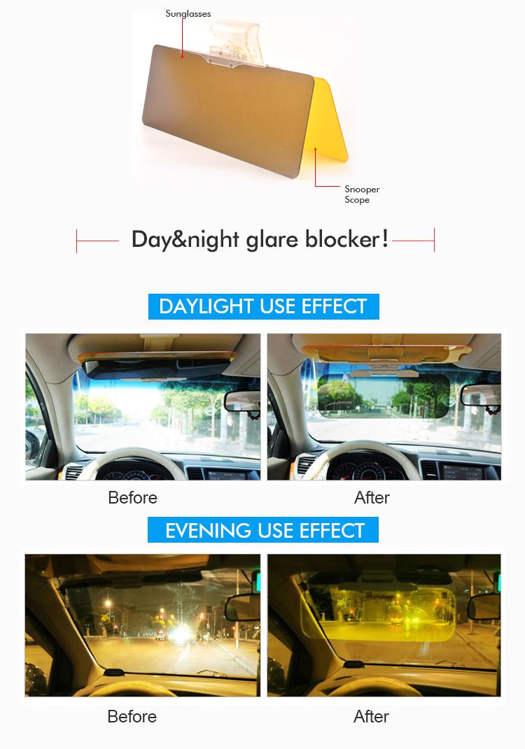 As Seen On Tv Double Acrylic Funny Custom Car Sun Visor - Buy High ... 565a0f8c9a1