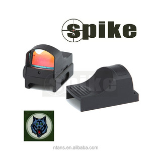 Spike Mini Tactical Red Dot Reflex Sight Scope Red Dot for Hunting/Air Gun Hunting Rifle Scope