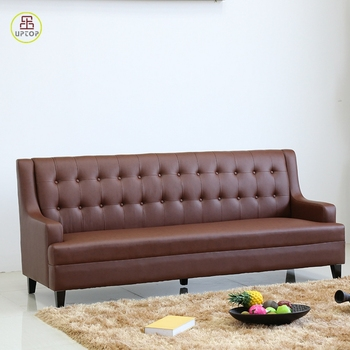 (sp-ks358) Modern Commercial Leather Sofa Booth Design For ...