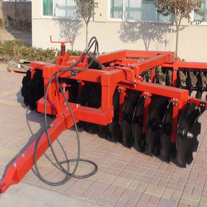 China Adopting farm lands agriculture machine tractor offset heavy disc harrow