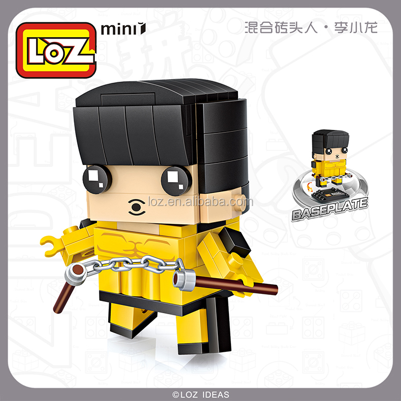 Plastic educational Chinese super hero toy small gift for kid