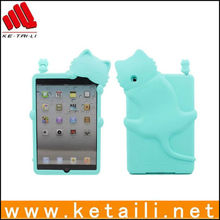 Case for iPad Mini with Stand, Lovely Animal Design, High-quality silicon Material, Fall Protection
