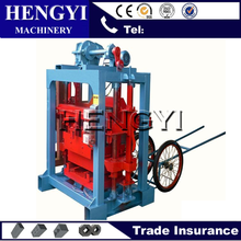 stable performance hollow block making machine/hollow blocks making process