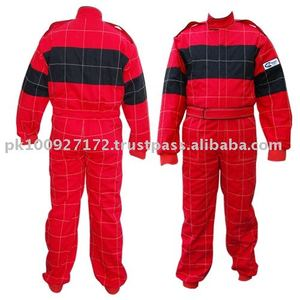 Nomex Double Layer Suit with Back Stretch Panel