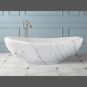 Chinese Marble Stone Freestanding Bathtub With Low Price