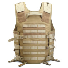 Wholesaler Desert Camo Army Combat Black Patch Molle Military Tactical Vest Plate Carrier