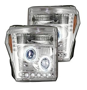 Recon Accessories 264272CL Headlight Assembly by Recon