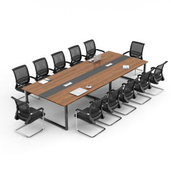 Fashion design modern office conference table meeting room table office furniture wooden