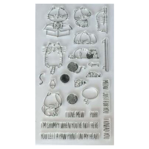 YZ-041 paper craft sacrapbooking and card making used clear custom stamp