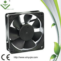Xinyujie 120mm axial air extractor fan/popular portable kitchen exhaust fan/12v24v48v cpu fan for msi