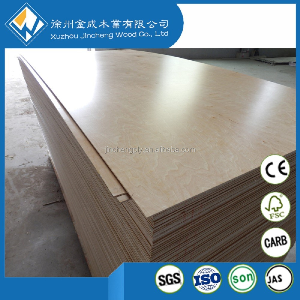 Chinese/Russian White baltic birch plywood C-2 grade for USA market