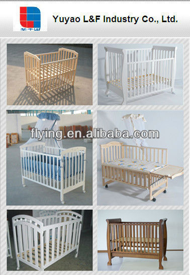 baby crib wooden baby bed baby cot