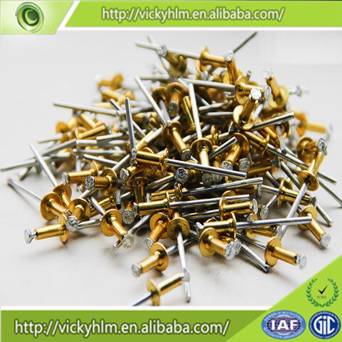 Alibaba Gold China Supplier Aluminum Pop Rivets Sizes,Color Pop ...