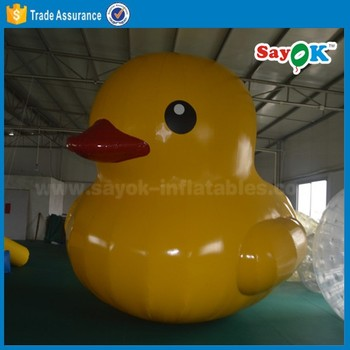 Inflatable Duck Decoy Rubber Duck Inflatable Swim Ring Duck For Show