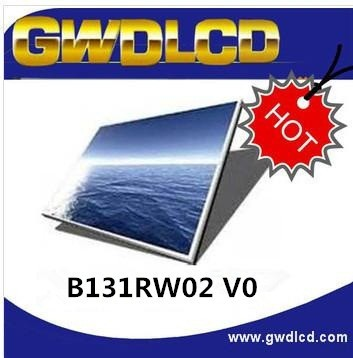13.1 inch 1600x900 HD+ WLED Backlight eDP Interface LCD Screen B131RW02 V0