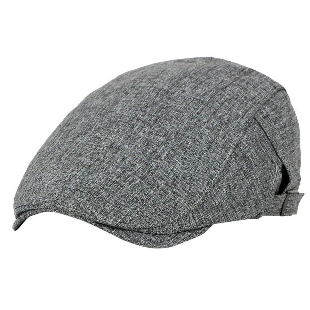 f118aa738c34b Get Quotations · Zhuhaitf Mens Flat Cap IVY Caps Hunting Hats Driver Hat  Spring Summer 4211