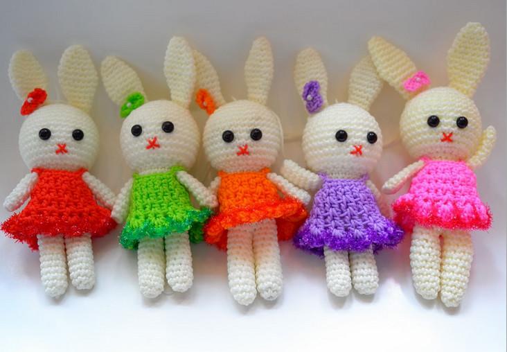 Amigurumi Boneka : Buatan tangan rajutan mainan amigurumi merajut aksesoris tangan