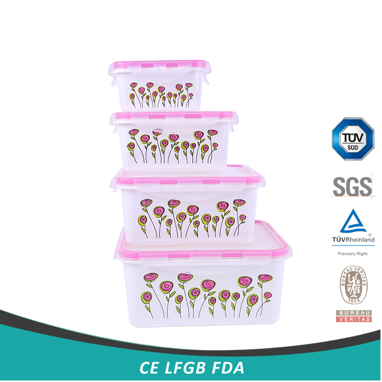 Best seller freshness preservation popular lunch box with plastic cover